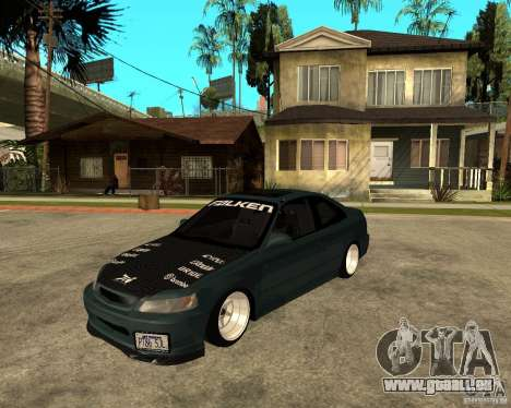 Honda Civic Coupe V-Tech für GTA San Andreas