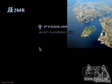 Neues Menü im Stil von New York für GTA San Andreas sechsten Screenshot