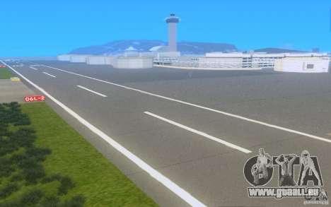 Konkrete Straßen von Los Santos Beta für GTA San Andreas