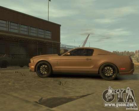 2011 Shelby GT500 Super Snake pour GTA 4 est une gauche