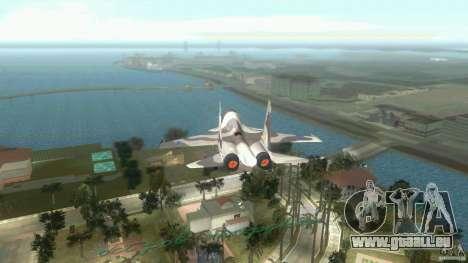 VC Air Force pour GTA Vice City sur la vue arrière gauche