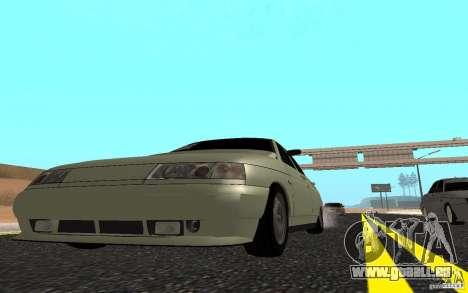 VAZ 2110 léger Tuning pour GTA San Andreas vue de droite