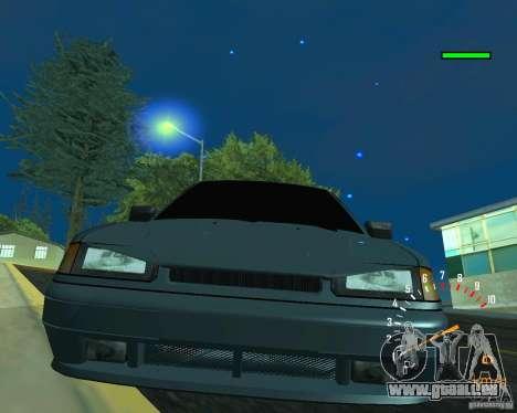 VAZ 2113 Ferarri pour GTA San Andreas vue de dessus