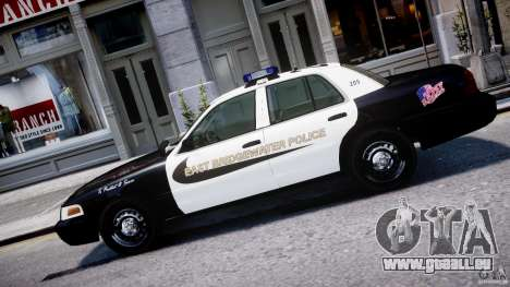 Ford Crown Victoria Massachusetts Police [ELS] für GTA 4 linke Ansicht