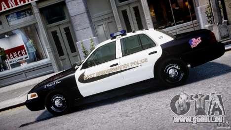 Ford Crown Victoria Massachusetts Police [ELS] für GTA 4 linke Ansicht