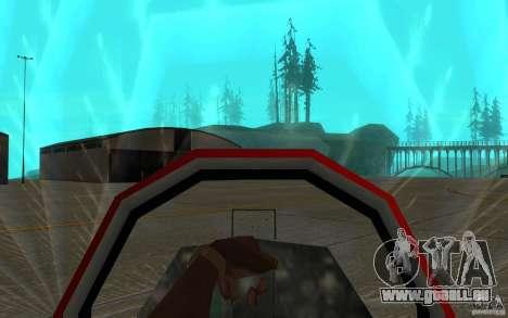 Black Hydra v2.0 pour GTA San Andreas vue intérieure