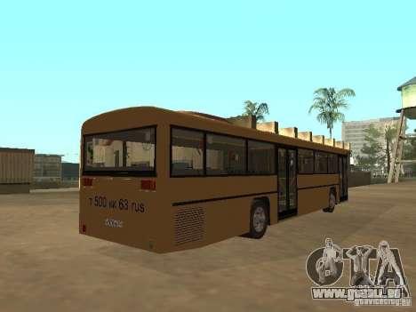 Man 202 pour GTA San Andreas vue intérieure