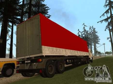 NefAZ 93344 trailer für GTA San Andreas linke Ansicht