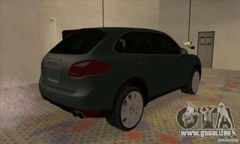 Porsche Cayenne Turbo 2012 für GTA San Andreas rechten Ansicht