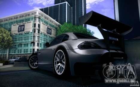 BMW Z4 E89 GT3 2010 pour GTA San Andreas vue arrière
