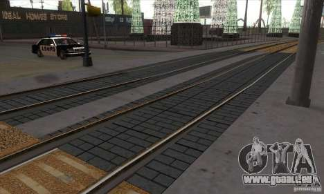 Russian Rail v2.0 für GTA San Andreas dritten Screenshot