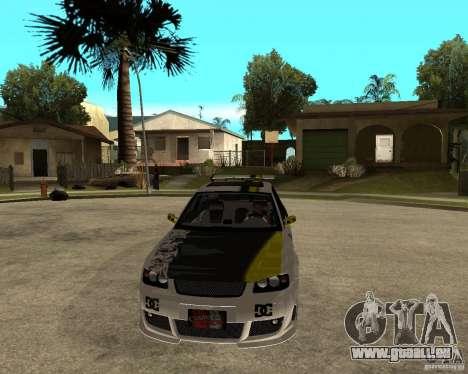 Audi S3 Monster Energy für GTA San Andreas Rückansicht