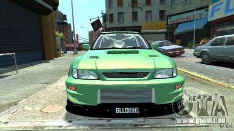 Subaru Impreza 22B STI 1999 pour GTA 4 Vue arrière de la gauche