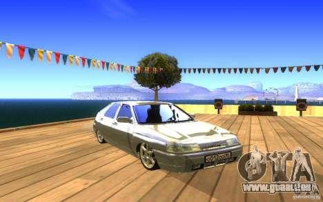 VAZ-2112 LT pour GTA San Andreas vue de dessous