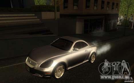 Lexus SC430 pour GTA San Andreas vue arrière
