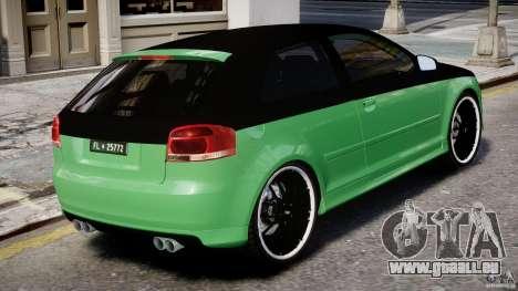 Audi S3 für GTA 4 Innen