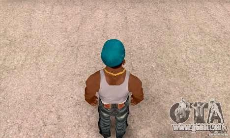 Béret AIRBORNE pour GTA San Andreas quatrième écran