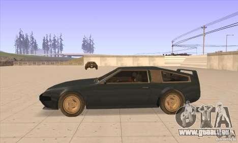 Deluxo HD pour GTA San Andreas laissé vue