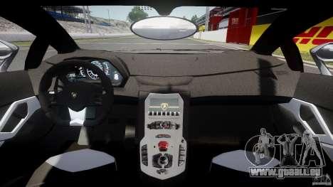 Lamborghini Aventador LP700-4 2011 [EPM] pour GTA 4 Vue arrière