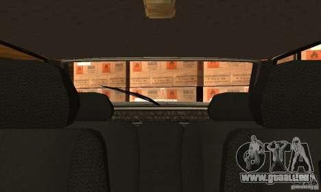 Vaz 2113 Suite v.1.0 pour GTA San Andreas vue intérieure