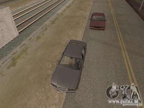 BMW 740 pour GTA San Andreas vue arrière
