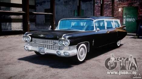 Cadillac Miller-Meteor Hearse 1959 pour GTA 4