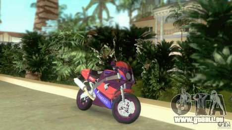 Yamaha FZR 750 midnight black für GTA Vice City