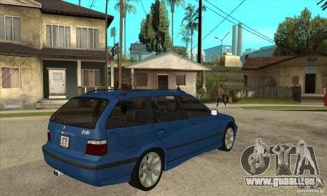 BMW 318i Touring pour GTA San Andreas vue de côté