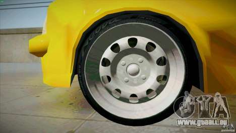 Opel Kadett D GTE Mattig Tuning für GTA San Andreas Unteransicht