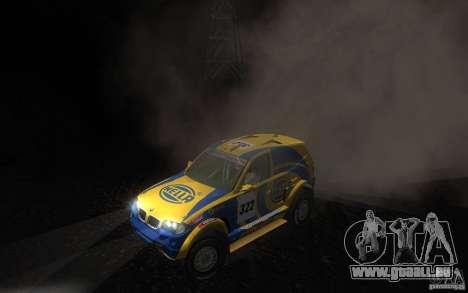 BMW X3CC X-Raid für GTA San Andreas