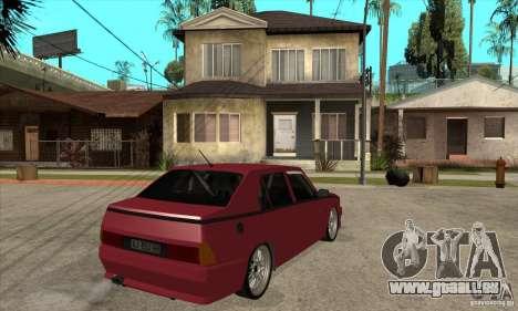 Alfa Romeo 75 Drifting für GTA San Andreas rechten Ansicht