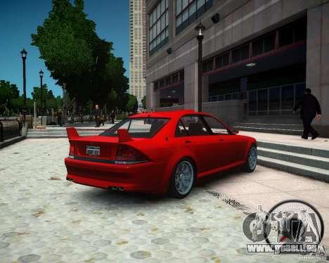 Schafter RS pour GTA 4 est une gauche