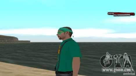 Skin Pack The Rifa Gang HD pour GTA San Andreas deuxième écran
