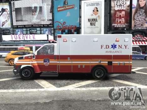 GMC C4500 Ambulance [ELS] für GTA 4 linke Ansicht