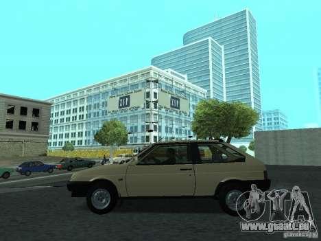 VAZ 2108 CR v. 2 für GTA San Andreas linke Ansicht