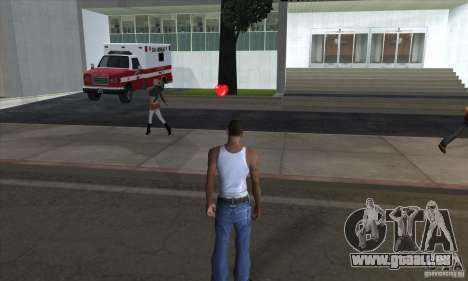 Trousse de premiers soins 1.0 pour GTA San Andreas troisième écran