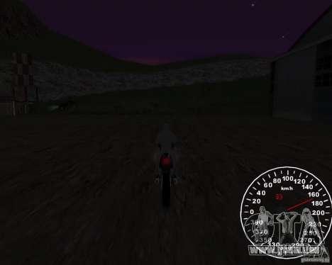 Compteur de vitesse 2.0 finale pour GTA San Andreas troisième écran