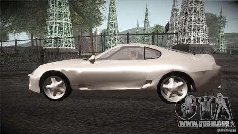 Toyota Supra pour GTA San Andreas laissé vue