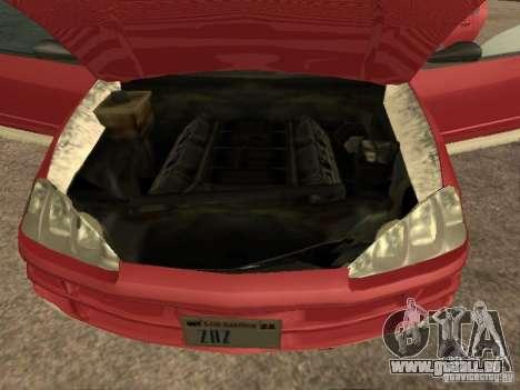Dodge Intrepid für GTA San Andreas zurück linke Ansicht