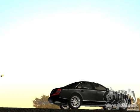 Maybach 57S für GTA San Andreas linke Ansicht