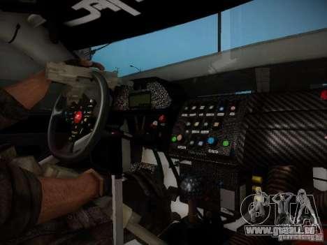 Nissan Silvia S13 Daijiro Yoshihara v2 pour GTA San Andreas vue intérieure