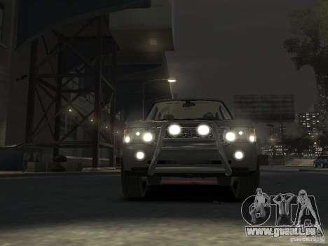 Range Rover Supercharged 2008 pour GTA 4 est un côté