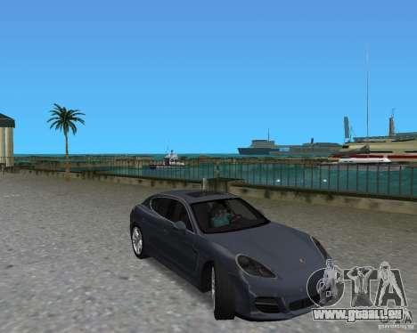 Porsche Panamera pour une vue GTA Vice City de la gauche
