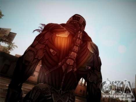 Crysis 2 Nano-Suit HD für GTA San Andreas dritten Screenshot