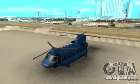 CH-47 Chinook ver 1.2 pour GTA San Andreas