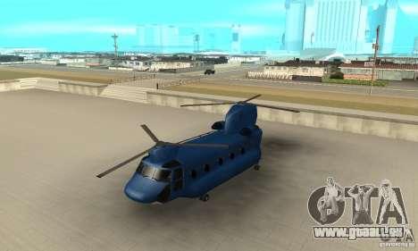 CH-47 Chinook ver 1.2 für GTA San Andreas
