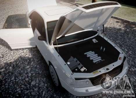 Audi A8 2000 pour GTA 4 Vue arrière de la gauche