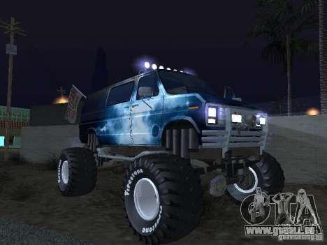 Ford Grave Digger pour GTA San Andreas vue de côté
