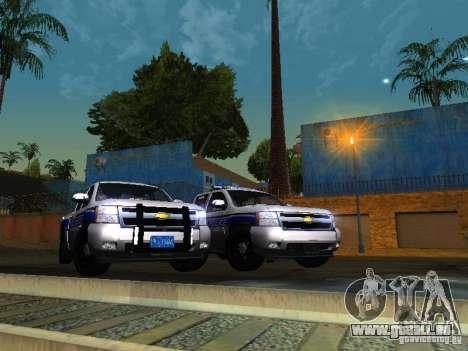 Chevrolet Silverado Rockland Police Department pour GTA San Andreas