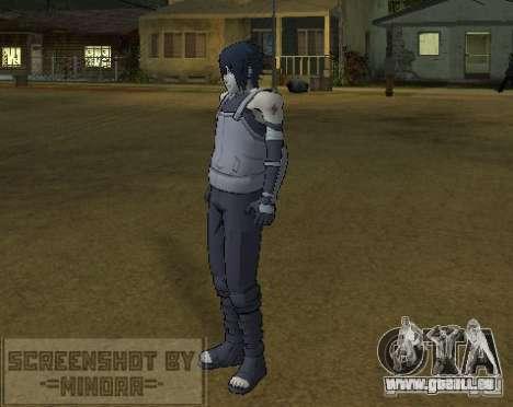 Peau Sasuke Anbu pour GTA San Andreas troisième écran
